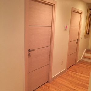 Interior Door Milano-1M1 White Oak. Photo