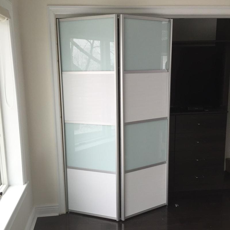 Gallery of modern bi-fold doors by Milano Doors. BFD-09 White ...