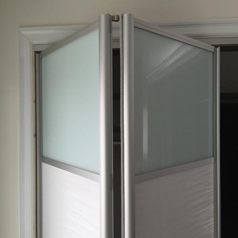 Bi fold Door BFD 07 Wenge White Obscure Glass Single Bi Fold. Gallery of modern bi fold doors by Milano Doors  BFD 07 Wenge