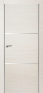door Milano 2Z White Ash Crosscut