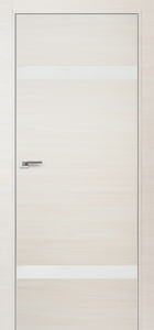 door Milano 3Z White Ash Crosscut