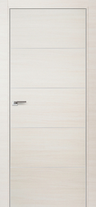 door Milano 7Z White Ash Crosscut
