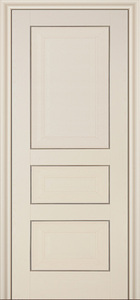 door Milano 25X White Ash