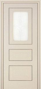 door Milano 26X White Ash