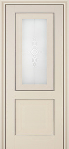 door Milano 28X White Ash