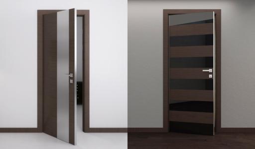 Gallery Of Modern Interior Doors By Milano Doors Milano 5z Wenge