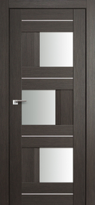 door Milano-13X Gray Crosscut