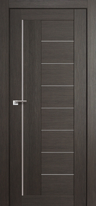modern interior door Milano-17X Gray Crosscut