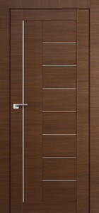 contemporary interior door Milano-17X Malaga Cherry Crosscut