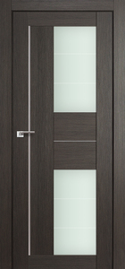 door Milano-44X Gray Crosscut