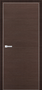 door Milano-1D Wenge Brush