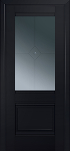 door Milano-2U Black mat
