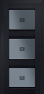 door Milano-4U Black mat