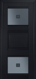 door Milano-6U Black mat