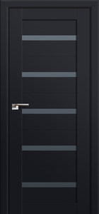 door Milano-7U Black mat
