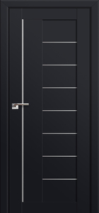 door Milano-17U Black mat