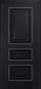 door Milano-25U Black mat