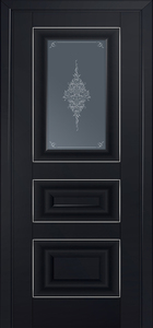 door Milano-26U Black mat