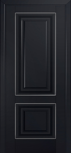 door Milano-27U Black mat