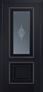 door Milano-28U Black mat