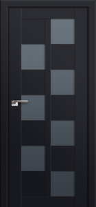 door Milano-36U Black mat