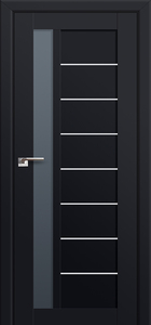 door Milano-37U Black mat
