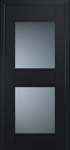 door Milano-51U Black mat