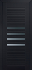 door Milano-55U Black mat