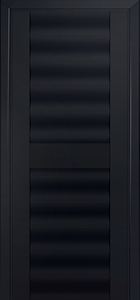door Milano-58U Black mat