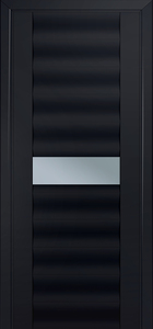 door Milano-59U Black mat