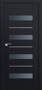 door Milano-60U Black mat
