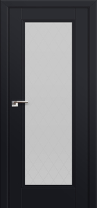 door Milano-65U Black mat