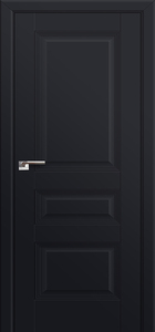 door Milano-66U Black mat