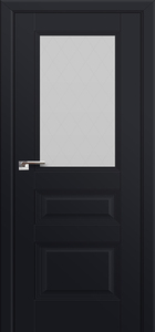 door Milano-67U Black mat