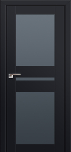 door Milano-70U Black mat