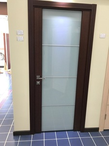 Interior Door Milano-300M1 Mahogany. Photo