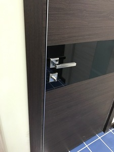 Interior Door Milano 4Z White Ash Crosscut. Photo
