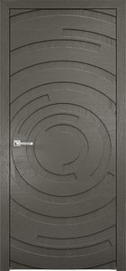 contemporary interior door Milabno-Twist 50 Grafit