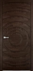 modern interior door Milabno-Twist 50 Moreniy