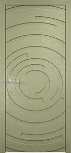 contemporary interior door Milabno-Twist 50 Olive