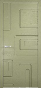 contemporary interior door Milano-Round 51 Olive