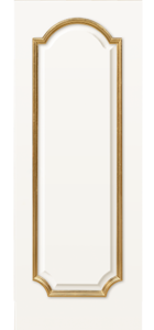 door Milano-GENEVA - F White Enamel Gold