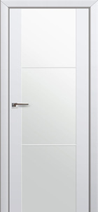 door Expo-2Q White Glass