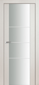 door Expo-3Q White Ash Glass