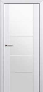 door Expo-4Q White Glass
