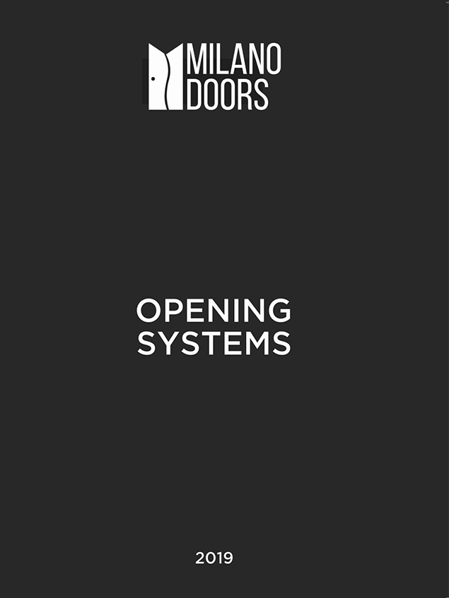 Milano Interior Doors Opening Systems