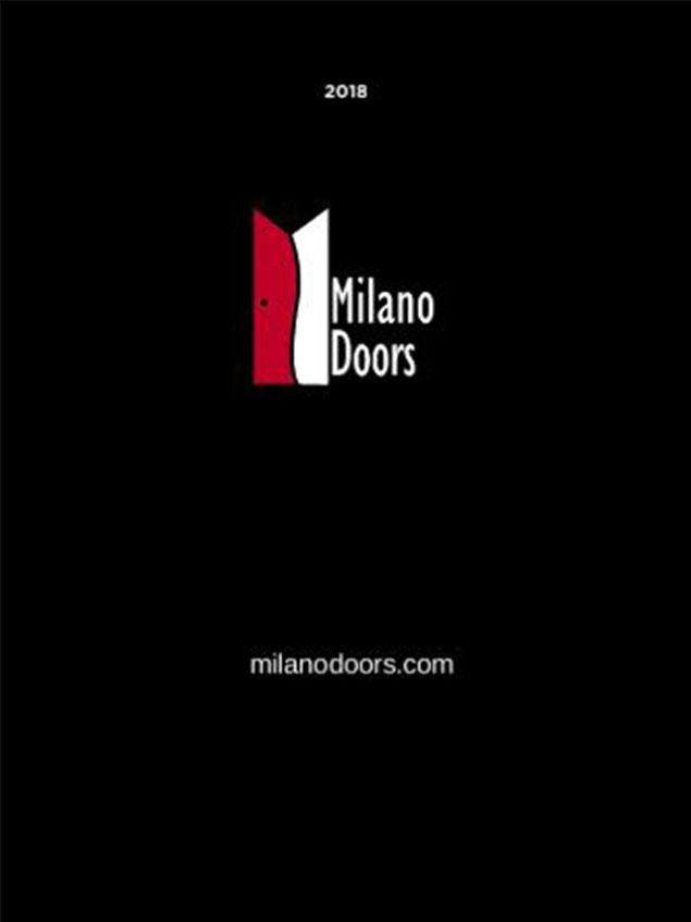Milano Interior Doors Catalog 2018
