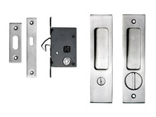Contemporary Pocket Door Privacy Set