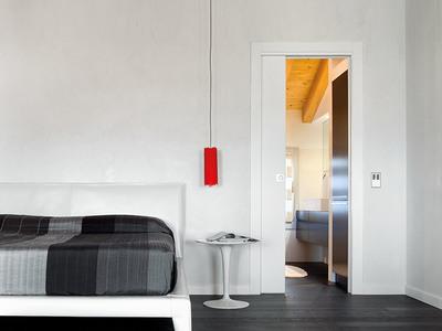 Eclisse 36 In X 80 In Steel Single Pocket Door Frame System