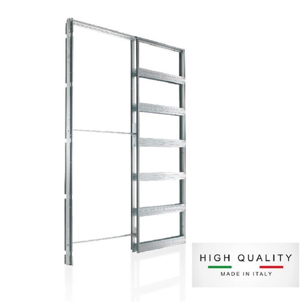 Steel Single Pocket Door Frame System